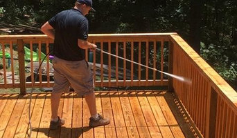 Deck - Powerwash & Stain