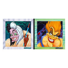 Disney Fine Art Villians Suite Have We Got A Deal Ice In Her Stare by Trevor Car
