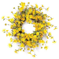 Daisy Wreath, Yellow
