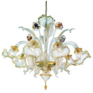 Canal Grande Murano Glass Chandelier, Polychrome