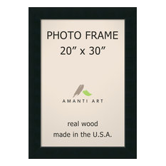 """Picture / Photo Frame 20""""x30, Corvino Black, Outer Size 25""""x35"""""""
