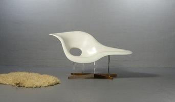 Charles und Ray Eames La Chaise für Vitra
