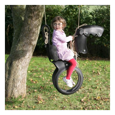 Recycled Tyre Horse Swing