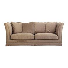 Juliet Camelback Sofa, Taupe