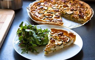 Aux fourneaux : Une tarte végétarienne légère et ensoleillée