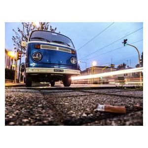 """Street Corners"" Photo Print, Art Poster, 100x75 cm"