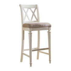 American Drew Fray Bar Stool White Bar Stools And Counter Stools