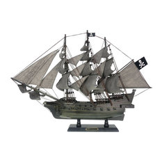 Wooden Flying Dutchman Limited Model Pirate Ship 26""