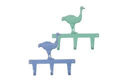 Metal Wall Hook, Ostrich