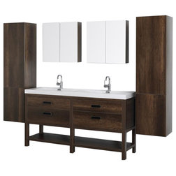 Transitional Bathroom Vanities And Sink Consoles by Kolibri Decor