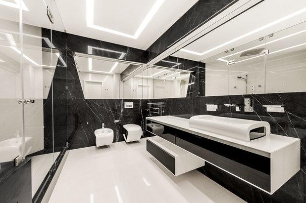 Современный Ванная комната by CENTRSVET