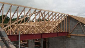 Roof Truss Installation - Tarporley Self Build