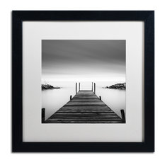 Trademark Fine Art - 'Leuty' Matted Framed Canvas Art by Dave MacVicar - Photographs