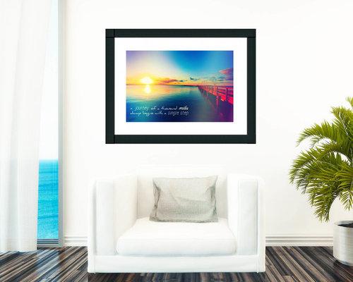 Large Ocean Style Framed Prints