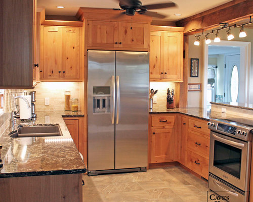 kitchen cabinets pictures rustic knotty alder kitchen with weathered beams 3169