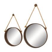 Metal and Mirror, 2-Piece Set