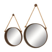 Metal and Mirror, 2-Piece Set