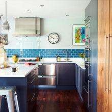 My Houzz: An Interior Designer's 1970s House Gets a Bold Makeover