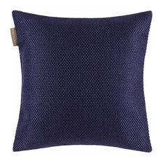 "Coconut Pillow Cover, Dark Night Blue, 16""x16"""