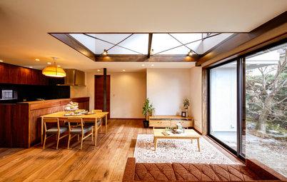 築30年超の京都の家を、吹き抜けで光あふれる快適な住まいに