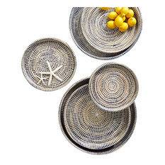 Two's Company, 6-Piece Set, Nested Woven Trays
