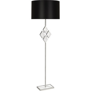 "Robert Abbey Edward OPQ FL WM Edward 62"" Novelty Floor Lamp with White Marble A"