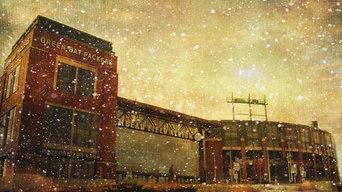 """""""The Frozen Tundra - Lambeau Field"""" by Joel Witmeyer, 36""""x24"""", Canvas"""