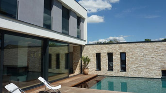 Façade maison individuelle - TEMA ARCHITECTURE