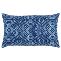 Tile Midnight Lumbar Pillow