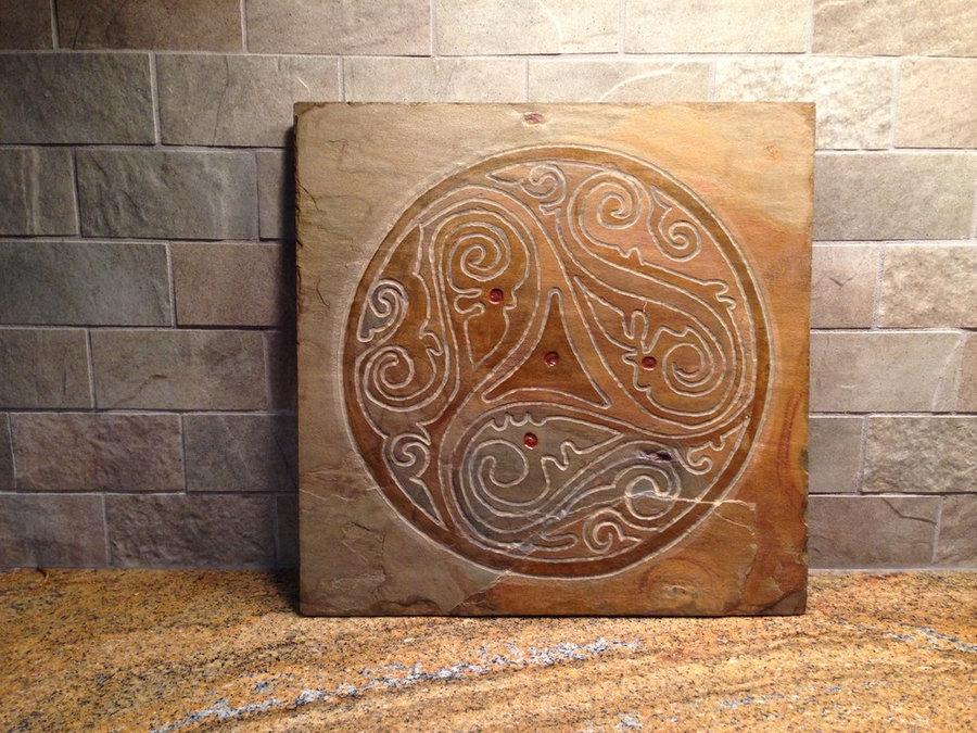 """""""Free Spirit"""" Artisan Tile- Mind Body Spirit Collection"""
