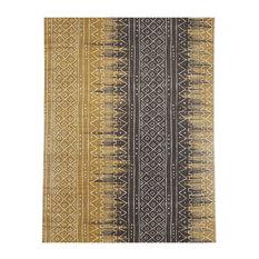 Wallquest Southwestern Aztec Style Mudcloth Boho Wallpaper, Single Roll