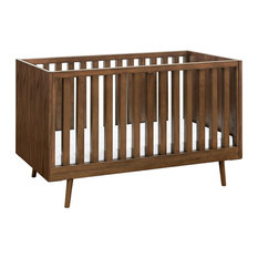 Ubabub Nifty Timber 3 In 1 Crib Walnut Cribs
