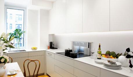 Cucina del Mese: Trucchi Salvaspazio in una Cucina di New York