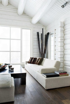 Paint Interior Walls Of Log Cabin White