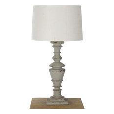 Sierra Lamp - Cream Shade