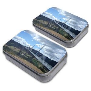 Millau Bridge France Tin Set