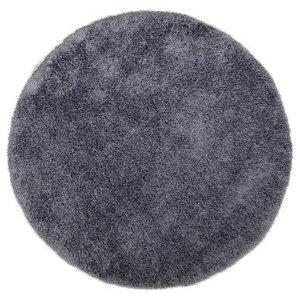 Tom Tailor Soft Shaggy Rug, Antharacite, 140 cm Round
