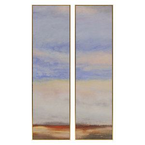 Paragon Scenic Contemporary Far Away II Pack of 2 Wall Art