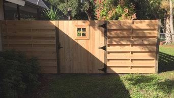 Cypress Fencing Jobs - Horizontal Shadow Box