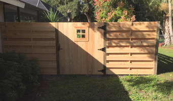 Cypress Fencing Jobs - Horizontal Shadow Box
