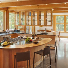 Warm Solid panel Timber Kitchens