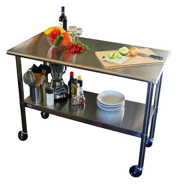 Kitchen Prep Table 2x4 stainless steel top kitchen prep table with locking casters 2x4 stainless steel top kitchen prep table with locking casters wheels workwithnaturefo
