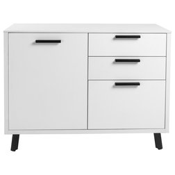 Midcentury Filing Cabinets by Euro Style