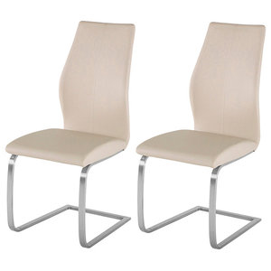 Irma Dining Chair, Set of 2, Taupe