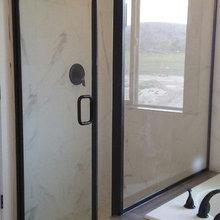 Semi Euro Shower Enclosure