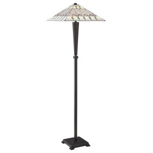 Mission Art Deco Floor Lamp, 60 W