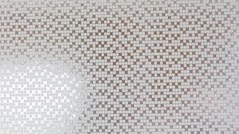 Tiles - Silver/White
