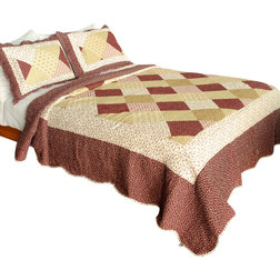 Simple Traditional Quilts And Quilt Sets by Blancho Bedding