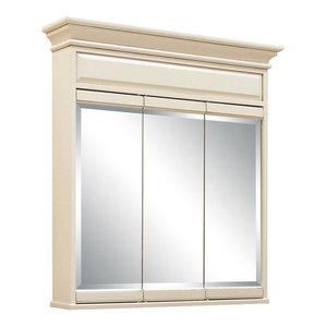 Surface Mount Single Door Medicine Cabinet Transitional