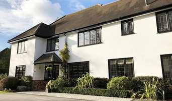 Black Slimline uPVC, Woking